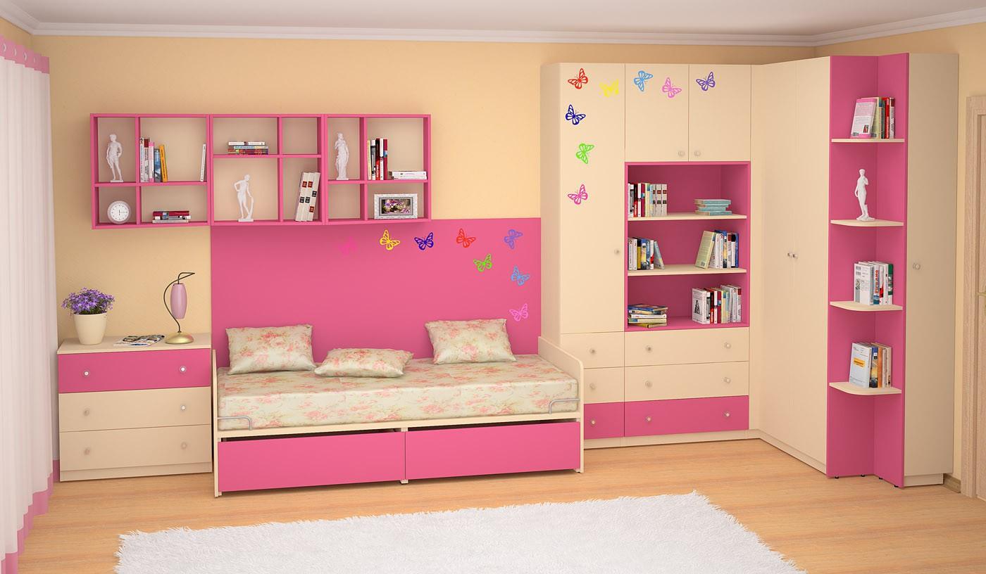 Модульная мебель для детской siluet (софтформ) - мебель недо.
